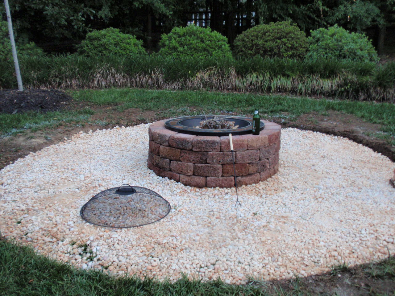 Interior Design For Home Ideas Backyard Brick Fire Pit Ideas
