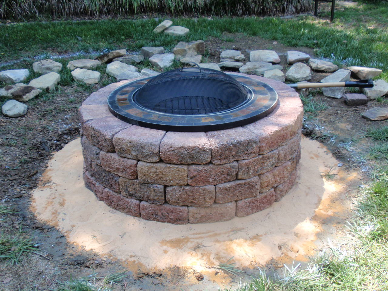 homemade fire pit plans shadowbox fence designs